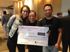 Sim UBC Sim Olympiad Winners CAEP 2015